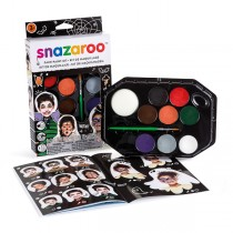Snazaroo Halloween Face painting kit - 8 paints