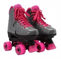 Circle Society - BLING Adjustable Quad Roller Skates - Sizzling Cinnamon