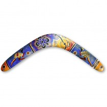 BoomerangFan Aboriginal (Left Handed)