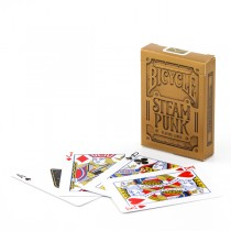 Bicycle Steam Punk Playing Card Deck - GOLD