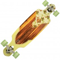 "Kryptonics | 36"" 'Birds of Paradise' Drop-through Longboard"