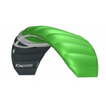 Cross Kites. Boarder 1.8 - FLURO GREEN. Inc' 2 line control bar