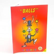 Mr Babache balls booklets