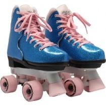 Circle Society - BLING Adjustable Quad Roller Skates – Bubblegum