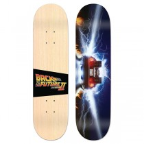 Madrid Skateboards Back To The Future - Burnout Street Deck - PRE-ORDER