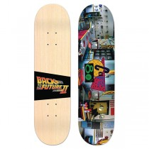 Madrid Skateboards Back To The Future - Cafe 80s Street Deck - PRE-ORDER