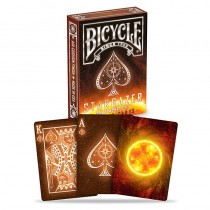 Bicycle Star Gazer - Sun Spots - Playing Card Deck