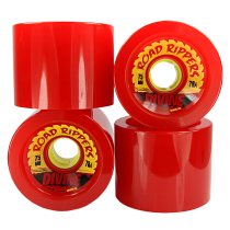 Divine | Divine Urethane Road Rippers Wheels 75mm 78a Red