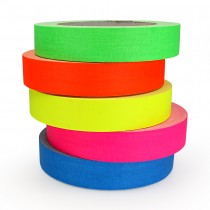 Fluoro 'Pro-Gaff' Tape - 24mm - 23m - 5 Colours Available