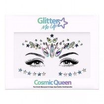 Glitter me Up -Face Jewels (Cosmic Queen) Glitter Me Up- SINGLE PACK