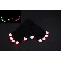 Flashing LED Gloves