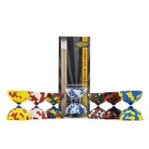 Jester Diabolo & Wooden Sticks - Pack