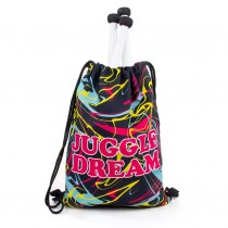Juggle Dream Drawstring Bag - Splash
