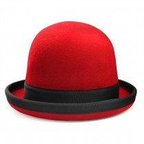 Juggle Dream Tumbler Manipulation Hat - Red/Black Trim