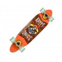 """Kryptonics 30"""" Pastel Surf Skateboard"""