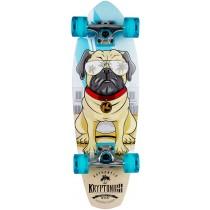 """Kryptonics 27"""" Pug Life Cruiser Board - Blue"""