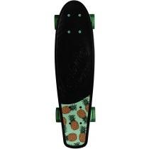Kryptonics Original Torpedo 22.5 Inch Complete Skateboard - Black Pineapple