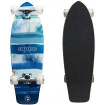 Kryptonics Super Fat Cruiser 9.75x30.5 Complete Skateboard - Blue Fish