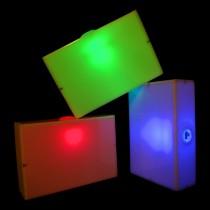 Juggle-Light LED Cigar Box - 'Multi-Light'