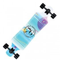 Madrid Spade 'Glitch' Top-Mount Complete Longboard