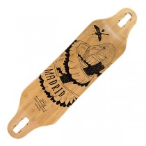 "Madrid Missionary Bamboo 'Flamingo' 37.375"" Drop-Through Deck"