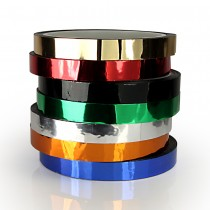 Metallic 'Pro-Gaff' Tape - 12mm - 23m - 7 Colours Available