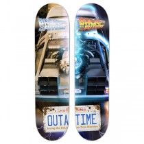 "Madrid Skateboards Back To The Future - OUTATIME Split Series (2x 8.25"" Decks) - PRE-ORDER"