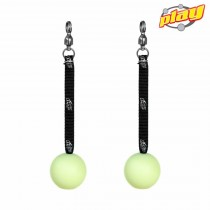 PAIR OF HYPER HANDLES FOR POI - Silcone Swinging Handle