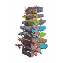 Kryptonics Skateboard & Longboard Display Rack