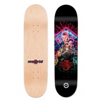Madrid x Stranger Things Poster Street Deck