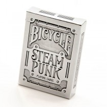 Bicycle SILVER Steam Punk Playing Card Deck