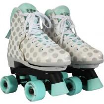 Circle Society - CRAZE Adjustable Quad Roller Skates - Sugar Drops