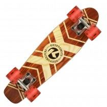 "Kryptonics | 22.5"" Torpedo 'Tribal Roots' Cruiser Board"
