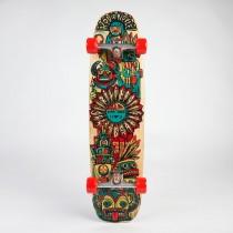 Riviera Skateboards Zia Stick Complete Skateboard
