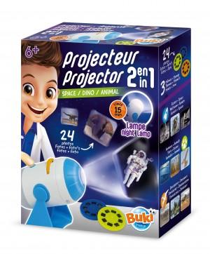 BUKI 2-in-1 Projector Set
