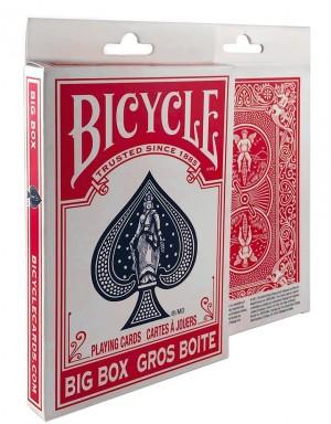 Bicycle X-Large Playing Card Gaff Deck