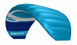 Cross kites. Quattro 2.5m - BLUE