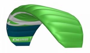 Cross Kites. Quattro 4.5m - GREEN