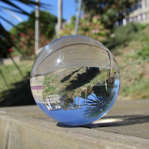 80mm Juggle Dream Crystal Clear Acrylic Contact Juggling Ball
