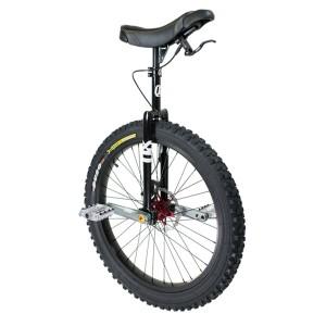 """Qu-Ax QX Muni 24"""" Disc Brake Unicycle - Q-AXLE"""