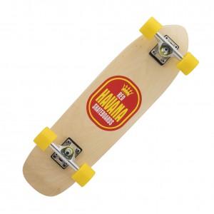 Havana Skateboards Red Peso Banana Cruiser